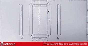"""Smartphone Bphone 3 của Bkav lộ thiết kế không """"cằm"""" giống iPhone X"""