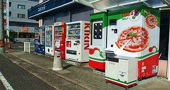 Máy bán pizza tự động ở Nhật - Chẳng cần lo cửa hàng đóng cửa, cứ ra mua là có!