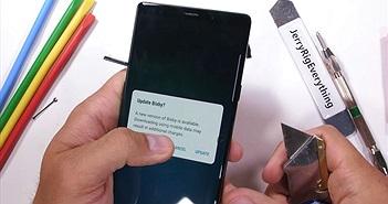 Samsung Galaxy Note 9 có thực sự cứng cáp?