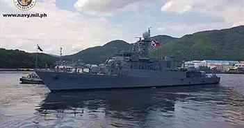 """Hàn Quốc mang """"hàng nóng"""" tàu chiến lớp Pohang tặng cho Philippines"""