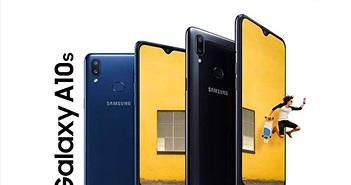 Samsung Galaxy A10s lên kệ tại Việt Nam giá 3,7 triệu