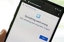 Google gặp sự cố, sập hàng loạt dịch vụ tại Mỹ