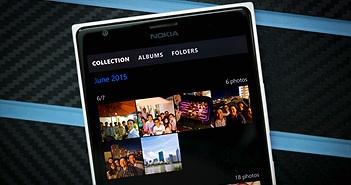 Vài tính năng hay của app Photos trong Win 10 Mobile: in PDF,  chọn ảnh theo thời gian, ẩn ảnh trùng