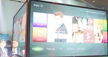 TCL và Zing hợp tác ra mắt tivi màu xanh, màu cam, giá rẻ