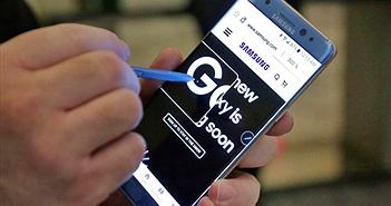 Samsung bị kiện vì làm Galaxy Note7 không đạt tiêu chuẩn