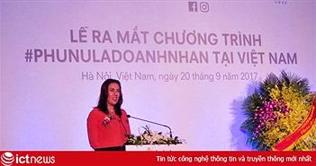 Facebook: Cứ 5 phụ nữ Việt Nam thì có 4 người muốn mở doanh nghiệp riêng