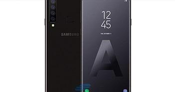 Lạ mắt concept và thông số smartphone 4 camera phía sau của Samsung