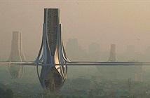Dự án xây chuỗi tháp lọc khí cao 100 mét tại Ấn Độ