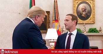 Mark Zuckerberg gặp Tổng thống Trump