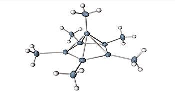 Lần đầu tiên nhìn thấy carbon có thể liên kết với 6 nguyên tử khác