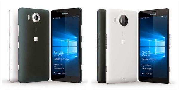 Trình làng Lumia 950, Lumia 950XL dùng Windows 10