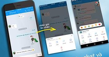Zalo cập nhật Mini chat: Nhắn tin không cần mở ứng dụng