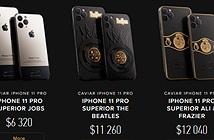 iPhone 11 Pro giá 6.000 USD: vỏ titan, đính vải áo len và chữ kỹ của Steve Jobs