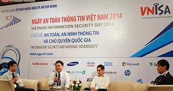 Chùm ảnh sự kiện Ngày An toàn thông tin Việt Nam 2014