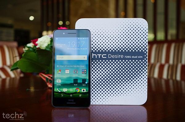 Trên tay HTC Desire 728G Dual Sim: Chiếc smartphone tầm trung có loa Boom Sound