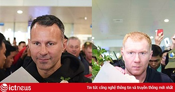 Sự kiện Ryan Giggs, Paul Scholes đến Việt Nam được cập nhật trên fanpage nào?