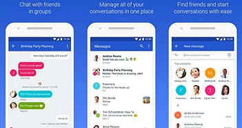 Google cập nhật phiên bản mới cho Android Messages, tích hợp Duo