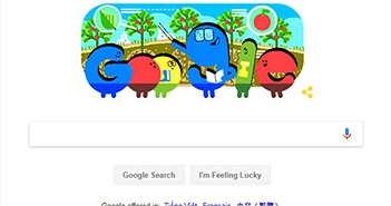 Google đổi doodle chào mừng ngày Nhà giáo Việt Nam