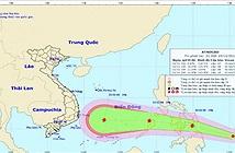 Áp thấp nhiệt đới tiến gần Biển Đông, khả năng mạnh lên thành bão