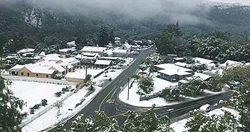 Hiện tượng thời tiết bất thường: Tuyết rơi giữa mùa hè ở New Zealand