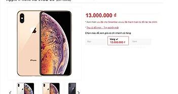 iPhone XS, XS Max mất Face ID chỉ 13 triệu tại Việt Nam