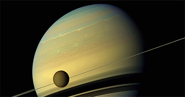 Công bố bản đồ đầu tiên về địa chất trên vệ tinh Titan của sao Thổ