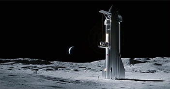 Tàu SpaceX có thể giao hàng lên Mặt Trăng vào năm 2022