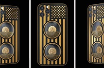 iPhone 12 Pro phiên bản dòng cát thời gian đặc biệt: ông Biden đối đầu ông Trump