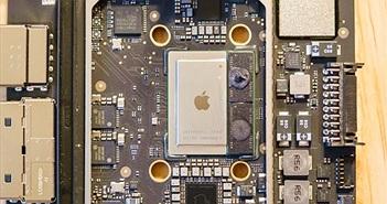 Mở Mac Mini mới: chip M1 nằm gọn gàng trong bảng mạch nhỏ hơn