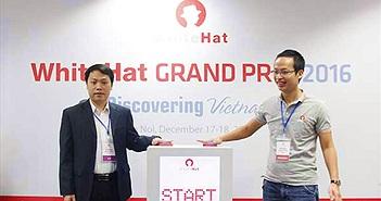 Việt Nam giành ngôi Á quân cuộc thi WhiteHat Grand Prix 2016 toàn cầu
