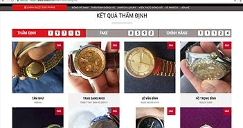 """""""80 - 90% đồng hồ tại Việt Nam là hàng giả!"""""""