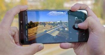"""Galaxy A9 2018 với 4 camera khoe khả năng chụp đêm với smartphone """"lạ"""""""