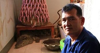Người đàn ông sống cùng cá sấu suốt 20 năm