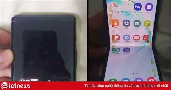Đây là smartphone Samsung Galaxy Fold tiếp theo?