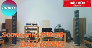 """Scansonic MB6-B đầu tiên tại Việt Nam - Kết hợp chất ultra hi-end Raidho và """"màu Benno"""""""