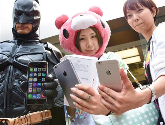 Doanh số iPhone bùng nổ tại châu Á