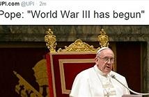 Hacker tuyên bố Thế chiến thứ 3 bắt đầu