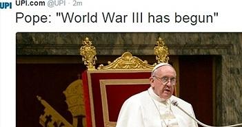 """Hacker tuyên bố """"Thế chiến thứ 3"""" bắt đầu"""