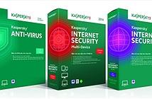Kaspersky tặng key bản quyền cho người dùng