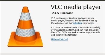 Phát hiện 2 lỗ hổng nghiêm trọng trên thư viện nguồn của VLC