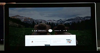 Hình ảnh đầu tiên về hệ điều hành Fuchsia mới của Google