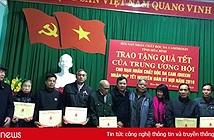 Cổng nhân đạo 1400 tặng quà Tết cho nạn nhân chất độc da cam