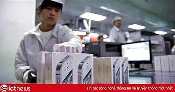 Đối tác hàng đầu của Apple sa thải 50.000 lao động thời vụ
