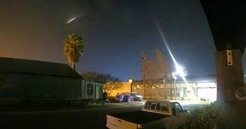 Vật thể lạ xuất hiện trên bầu trời Mỹ