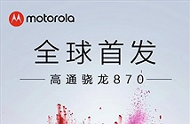 Motorola Edge S chính thức ra mắt vào 26/1 với Snapdragon 870