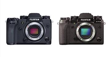 So sánh thông số cấu hình máy ảnh Fujifilm X-H1 và Fujifilm X-T2