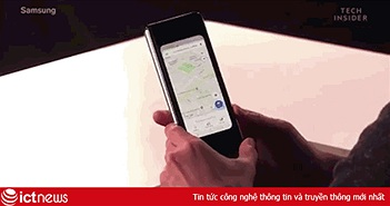 Video trên tay Galaxy Fold, smartphone màn hình gập siêu dị của Samsung