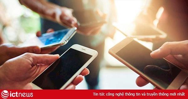 Gần 45% người dân Việt Nam đang sử dụng smartphone
