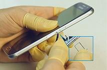 [Video] Tháo tung Samsung Galaxy S6, có vẻ khó khăn