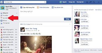 Xem lịch sinh nhật bạn bè trên Facebook